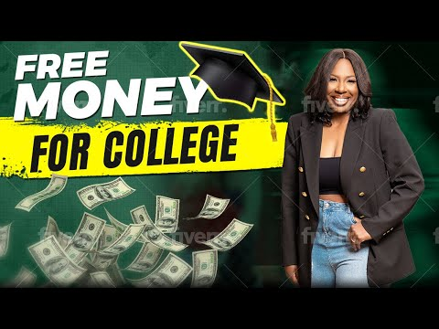 FREE MONEY FOR COLLEGE: GRANTS, SCHOLARSHIPS +  TUITION! ❌ NO STUDENT LOANS! HOW TO PAY FOR COLLEGE!