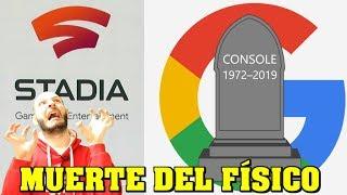 ¡TERROR A GOOGLE STADIA POR EL FORMATO FÍSICO! - Sasel - digital - playstation now - consolas thumbnail