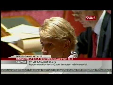 Projet de loi de finance de la sécurité sociale - Séance (16/11/2010)