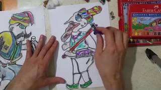 Remix Hacivat Karagöz Yapımı çizimi Hacivat 2bölüm Selçuk Erdem