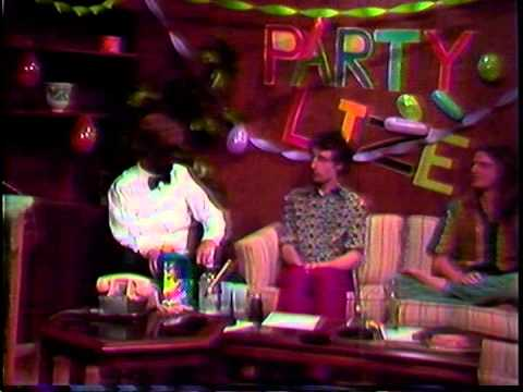 """Highlights from """"Partyline"""" - Observer TV, Athens,GA  1985 or so"""