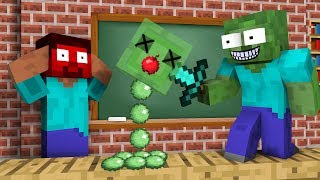 Monster School : Robbery Challenge - Minecraft Animation