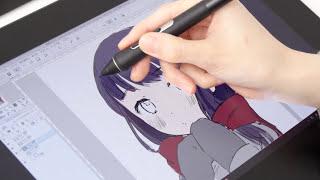 「Wacom Cintiq Pro 13」をイラストレーターmeraさんに使ってもらってみた