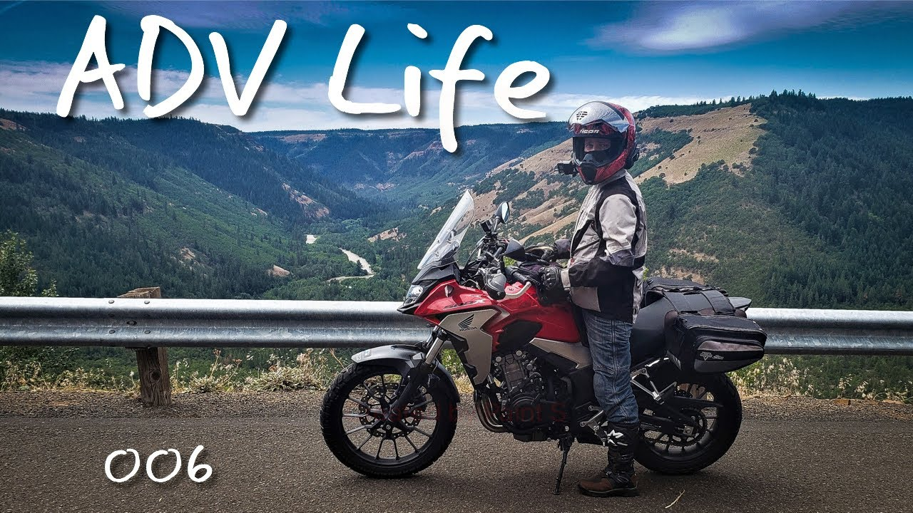 ADV Life on the 2019 Honda CB500X | Oregon Motorcycle 2020 #advlife #cb500x