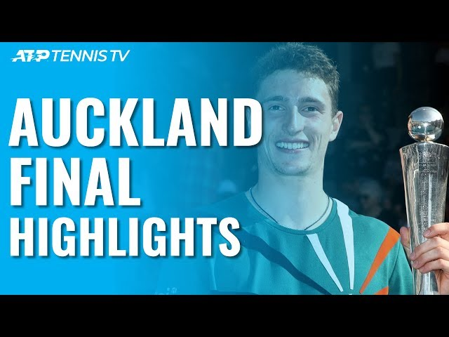 Humbert Defeats Paire To Win Maiden ATP Title!   Auckland 2020 Final Highlights