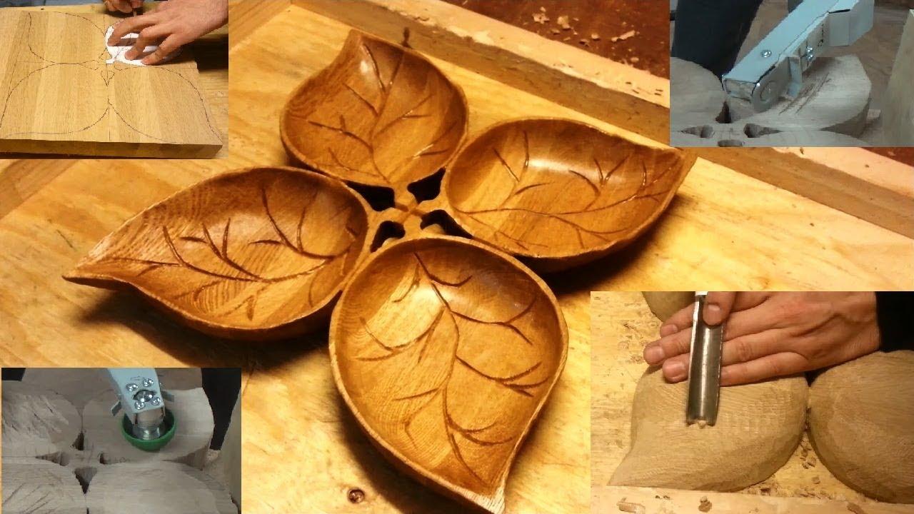Посуда из дерева своими руками фото 588