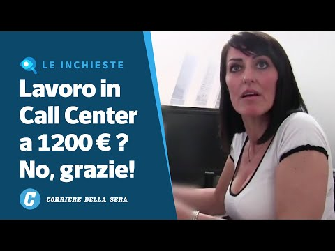 Nel call center di Milano che non trova operatori a 1200 euro al mese
