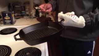 The Ove Glove Cast Iron Skillet Test
