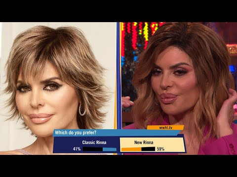 Lisa Rinna Talks About Her Old Hairstyle | WWHL thumbnail