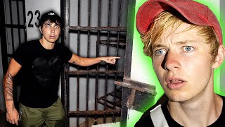 LOCKED in a HAUNTED Prison Cell (abandoned)