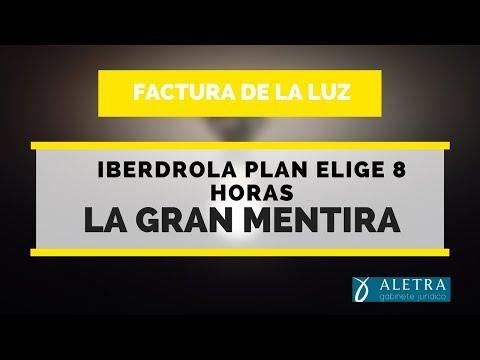 La gran mentira del plan elige 8 horas de Iberdrola