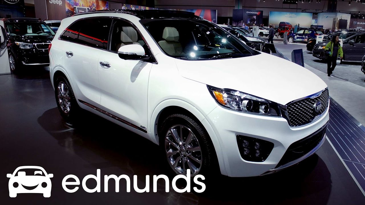 2017 kia sorento review features rundown edmunds youtube. Black Bedroom Furniture Sets. Home Design Ideas