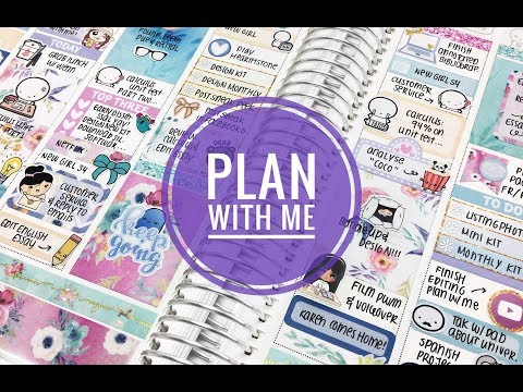 plan with me (ft littlemisspaperie)