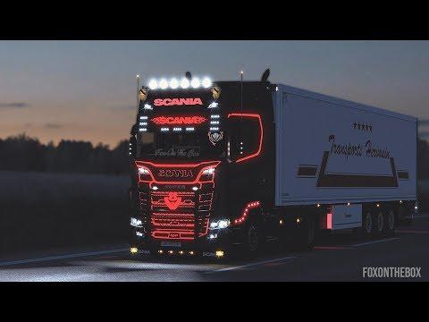 Scania Next Gen R & S Addons V3   Euro Truck Simulator 2 Mod