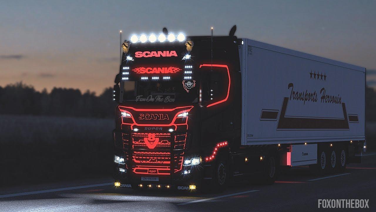 Scania Next Gen R & S Addons V3 | Euro Truck Simulator 2 Mod