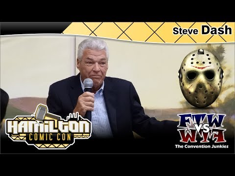 Steve Dash Jason Voorhees, Friday the 13th Part 2 Hamilton Comic Con 2017 Full Panel