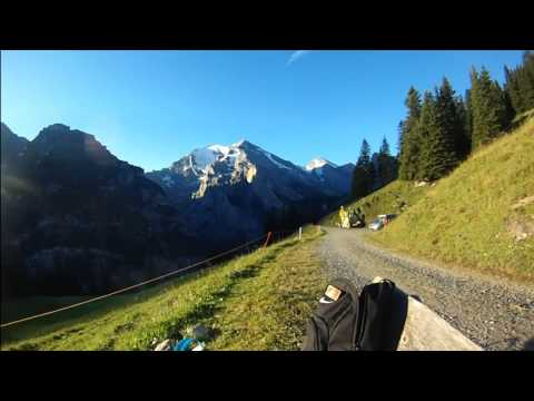 Amazing Views - Kandersteg - Sunrise Over Alps