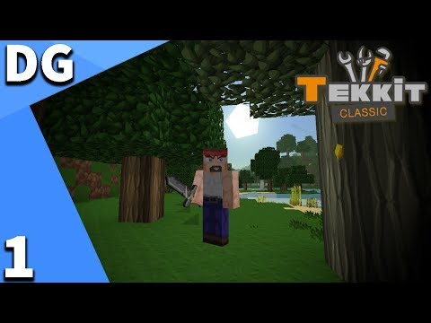 Minecraft Tekkit Classic | TURN BACK THE CLOCK!!! | Episode 1 | Modded Singleplayer Survival