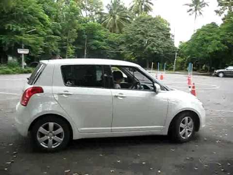 Suzuki swift  ขับโดย.น้องเนย