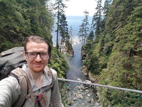 Hiking Vancouver Island: Ep1 - Juan De Fuca