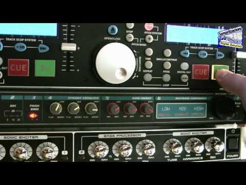 Цифровой многофункциональный стереопроцессор - Behringer