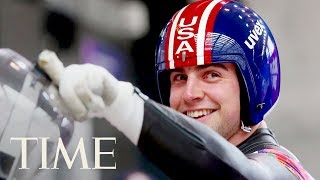 Luger Chris Mazdzer's Journey To Historic Olympic Silver Medal & Being An Internet Sensation | TIME