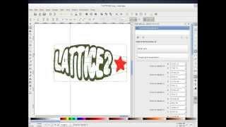 "Inkscape ""lattice2"" Live Effect"