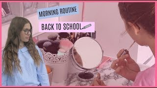 MORNING ROUTINE BACK TO SCHOOL
