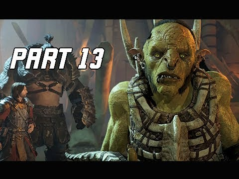 Middle-Earth Shadow of War Walkthrough Part 13 - Ratbag (Let's Play Commentary)