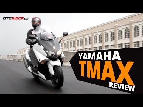 Yamaha TMax Test Ride Review – Indonesia | OtoRider