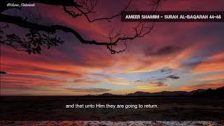 Powerful  Emotional & Soft Quran Recitation | Ameer Shamin | عمير شميم | English Subtitles screenshot 4