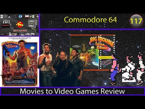 Movies to Video Games Review - Big Trouble in Little China (Commodore 64)
