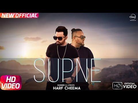 Supne ( Full Video) Harf Cheema Ft Deep Jandu | Latest Punjabi Song 2017 | Speed Records