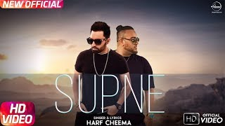 Supne ( Full Video) Harf Cheema Ft Deep Jandu | Latest Punjabi Song 2017 | Speed Records