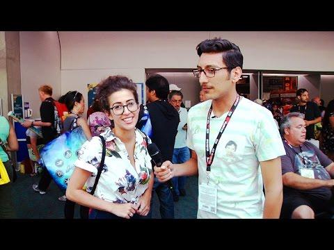 April O'Neil (Uncut: Comic-Con 8)