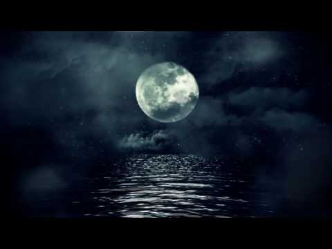[10 Hours] Full Moon over Cloudy Waters - Video & Audio [1080HD] SlowTV