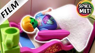 Playmobil Film Deutsch - HANNAH MUSS KOTZEN! MUSS SIE OPERIERT WERDEN? Kinderserie Familie Vogel