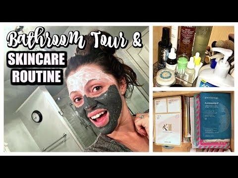 Bathroom Tour + Skincare Routine | Fall/Winter 2017