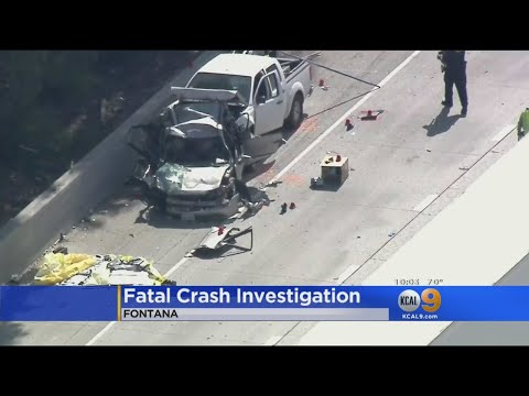 Identities Of Victims, Suspect In Deadly Fontana Crash Identified