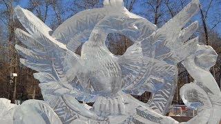 Ледяные и снежные скульптуры. Ice sculptures