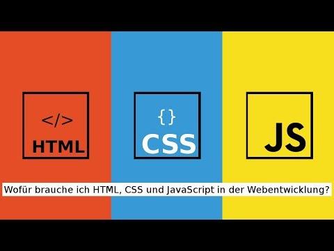 Was Ist HTML, CSS Und JavaScript? - Entwickle Deine Eigene Website!  #1 (Deutsch)