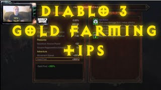 GET RICH QUICK! | Lets Play Diablo III - Gold Farming Tips