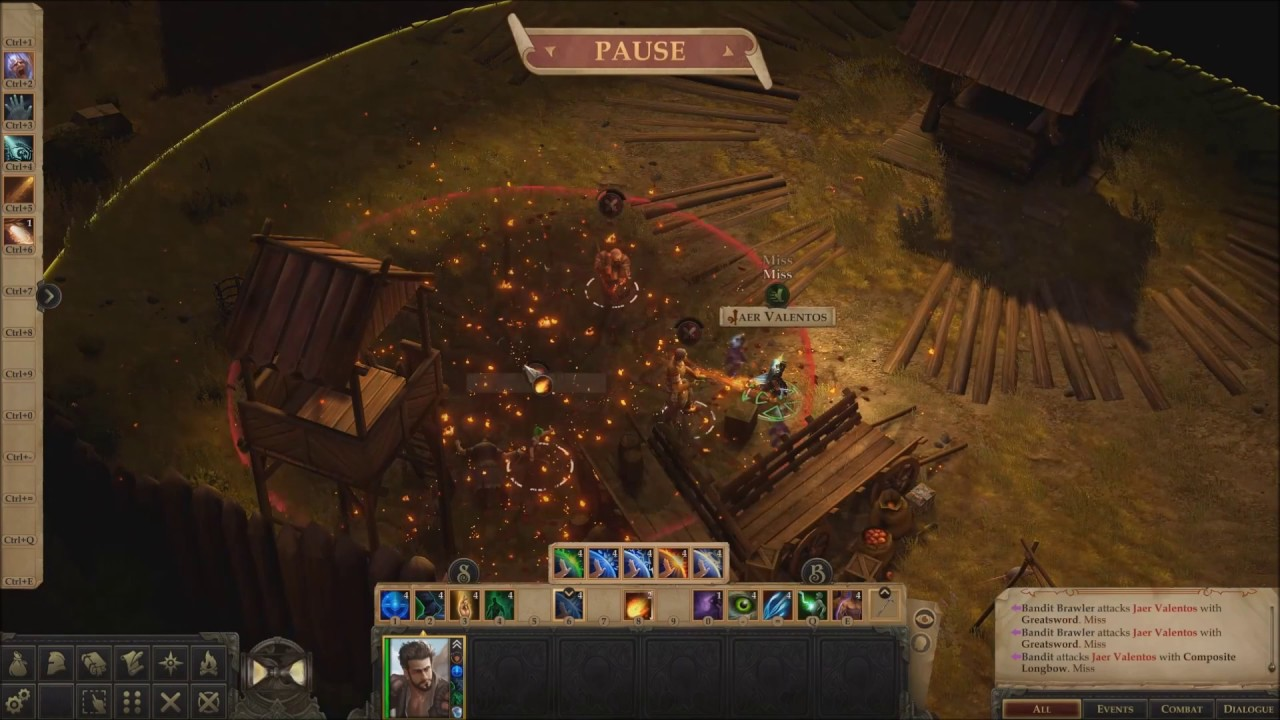 Pathfinder Kingmaker, Stag Lord Fort Eldritch Knight Solo Hard