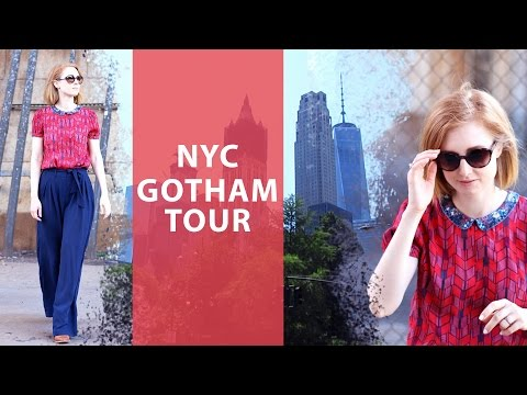 NEW YORK CITY 2016 VLOG 3 I GOTHAM FILM TOUR I Advance Your Style