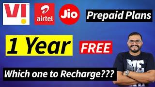 Reliance Jio, Bharti airtel aur Vi का कौन सा Prepaid Plan Recharge करे? किसमे है ज़्यादा Benefits
