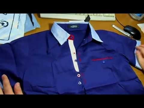Рубашка с коротким рукавом за $7.92 Aliexpres