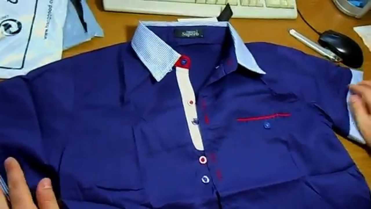 Стильная мужская рубашка с коротким рукавом La Querre Арт.4001-1 .