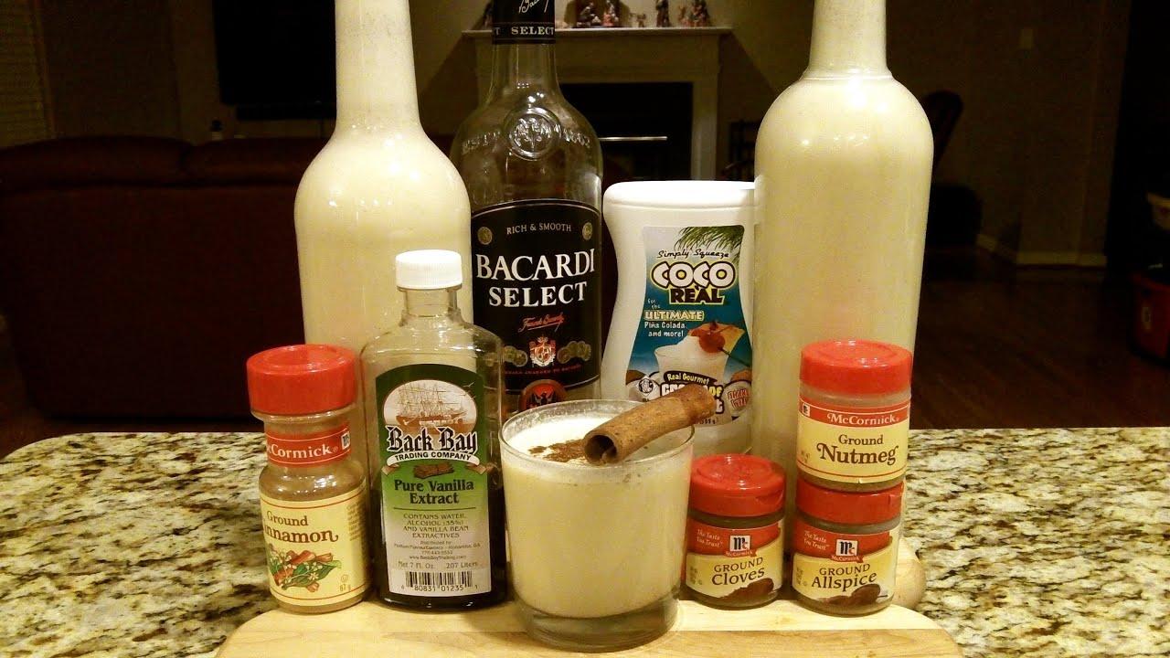 How To Make COQUITO ★Puerto Rican Stye Caribbean Eggnog★ (Recipe Included)  DJs BrewTube Beer Review