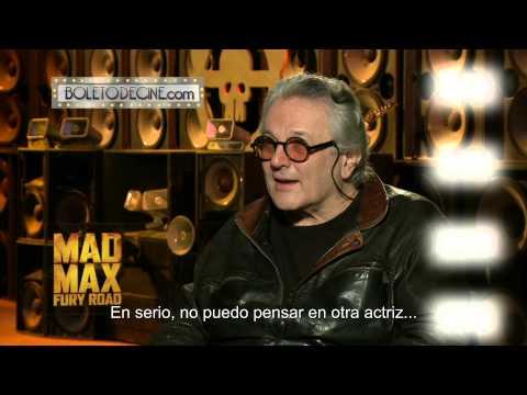 """Boletodecine.com: Entrevista con George Miller director de """"Mad Max Fury Road"""" Mp3"""
