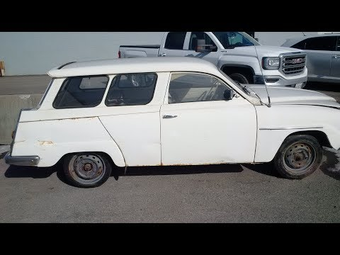 1957  SAAB STATION WAGON